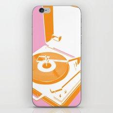 45rpm 33 1/3rpm 16rpm iPhone & iPod Skin