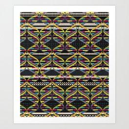 Pattern DNA Art Print
