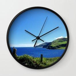 Antrim coast. Northern Ireland Wall Clock