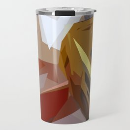 St. Maarten Color Block Building Travel Mug