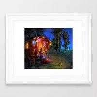 wanderlust Framed Art Prints featuring Wanderlust by Aimee Stewart
