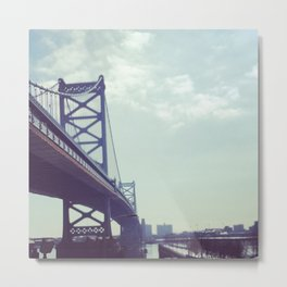Philadelphia Ben Franklin Bridge Metal Print