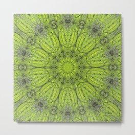 Green Tree Trunk 3 Metal Print