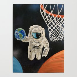 Space Games Poster