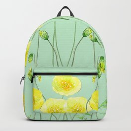 Yellow Wildflowers II Backpack