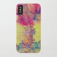 maps iPhone & iPod Cases featuring maps by Emily Tumen