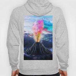 Rainbow Volcano Hoody