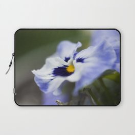 Blue Pansy II Laptop Sleeve