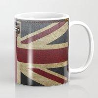 england Mugs featuring England Reisen by Fine2art