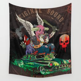 Death Rattle Wall Tapestry