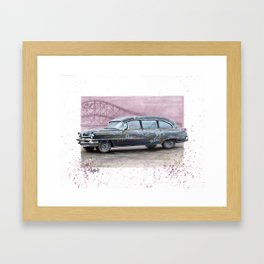 The Rogues' Hearse Framed Art Print