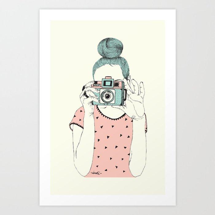 """Say cheese"" Art Print"