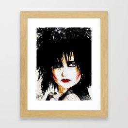 Siouxsie Sioux Framed Art Print