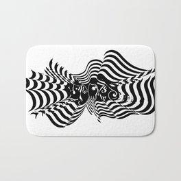 Psycho wave Bath Mat