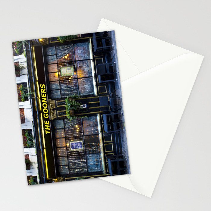 The Gooners Stationery Cards