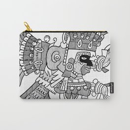 Ancient Mexican Design Carry-All Pouch