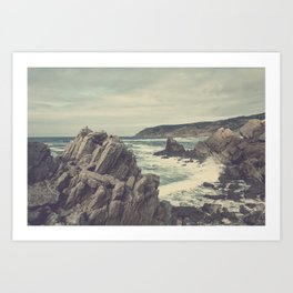 'Sea as far as you can see' Art Print