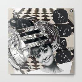 Audrey Science Theatre 3000 Metal Print