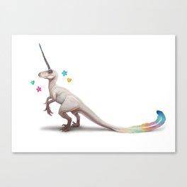 Uniraptor by Serena Art Canvas Print