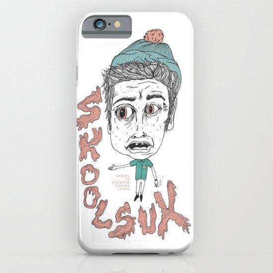 SKOOL SUX / SUMMR 4EVER iPhone & iPod Case