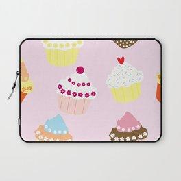 I Love Cupcakes Laptop Sleeve