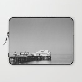 North Pier Blackpool on a calm july morning. Laptop Sleeve