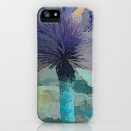 TheDesert blue -By Sherri Of Palm Springs iPhone Case