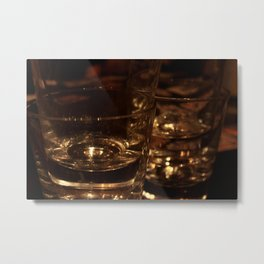 Out with Friends Metal Print