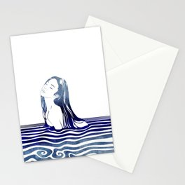 Water Nymph VIII Stationery Cards