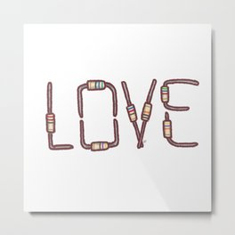 Love as resistance Metal Print