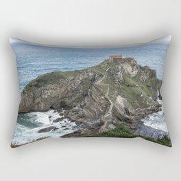 San Juan de Gaztelugatxe Rectangular Pillow