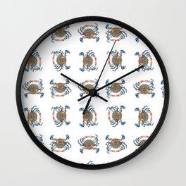 Feelin' Crabby Wall Clock