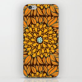 Autumn Floral iPhone Skin