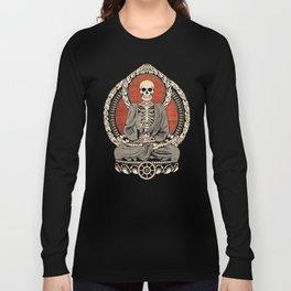 Starving Buddha Long Sleeve T-shirt