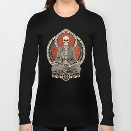 Starving Buddha Long Sleeve T-shirt