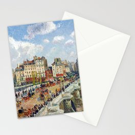 Camille Pissarro The Pont Neuf Stationery Cards
