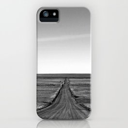 Long Lonely Road iPhone Case