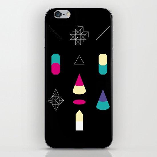 Play on Black iPhone & iPod Skin