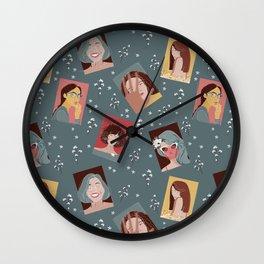 Empowered women Wall Clock