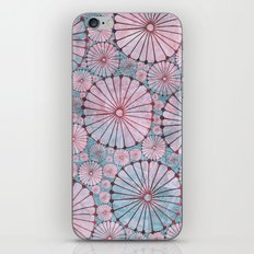 Abstract Floral Circles 3 iPhone & iPod Skin