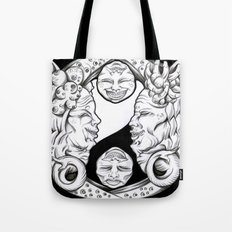Misunderstandings between men and women Tote Bag