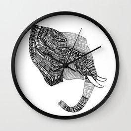 'Elephant' by Ally Joannides Wall Clock