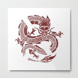 Dragon X Metal Print