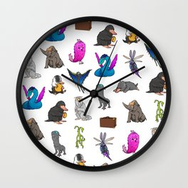 Fantastic Creatures Wall Clock