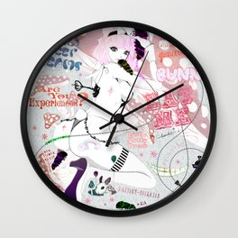 MAD ALICE: Lovely Sweet Dreams Wall Clock
