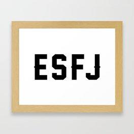 ESFJ Framed Art Print