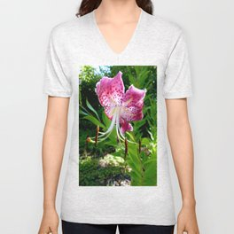 Overblown Bloom 2 Unisex V-Neck