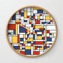 Mondrian De Stijl Pattern by zennykenny