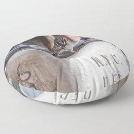 NYC Pigeon Floor Pillow
