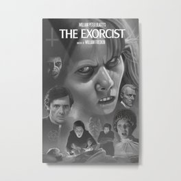 The Exorcist (1974) Metal Print